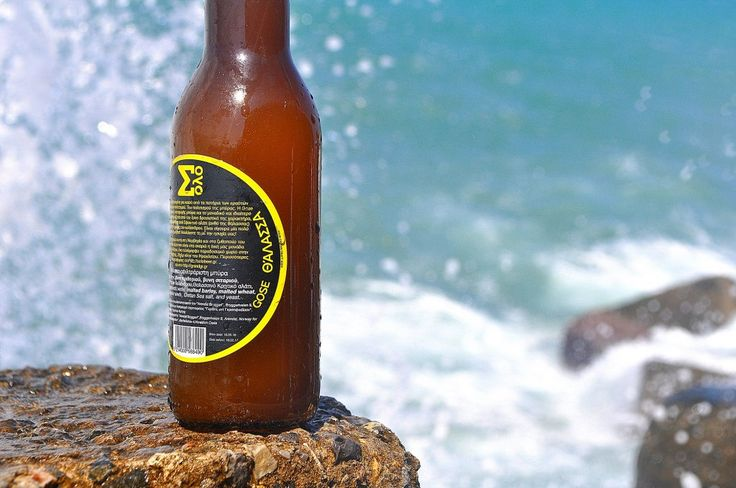 Thalassa, the first Greek Gose, by Solo Your Cretan Craft Beer