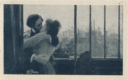 Vintage Valentine embrace