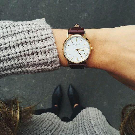 Reloj cuero mujer 2017