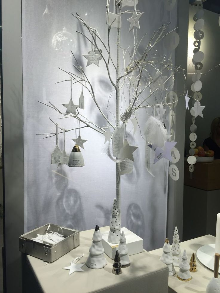 Christmas Decoration Ideas - Tree Branch