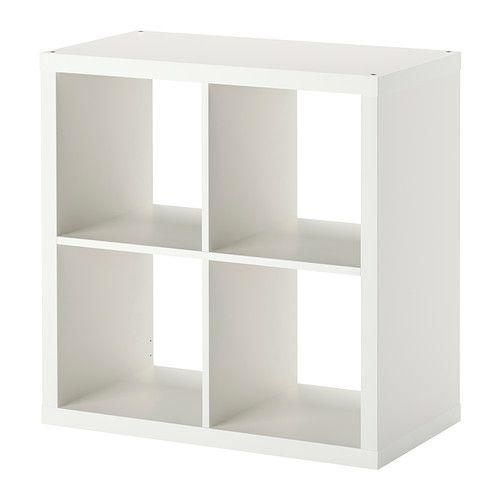 KALLAX Shelving unit, white white 77x77 cm. 20£