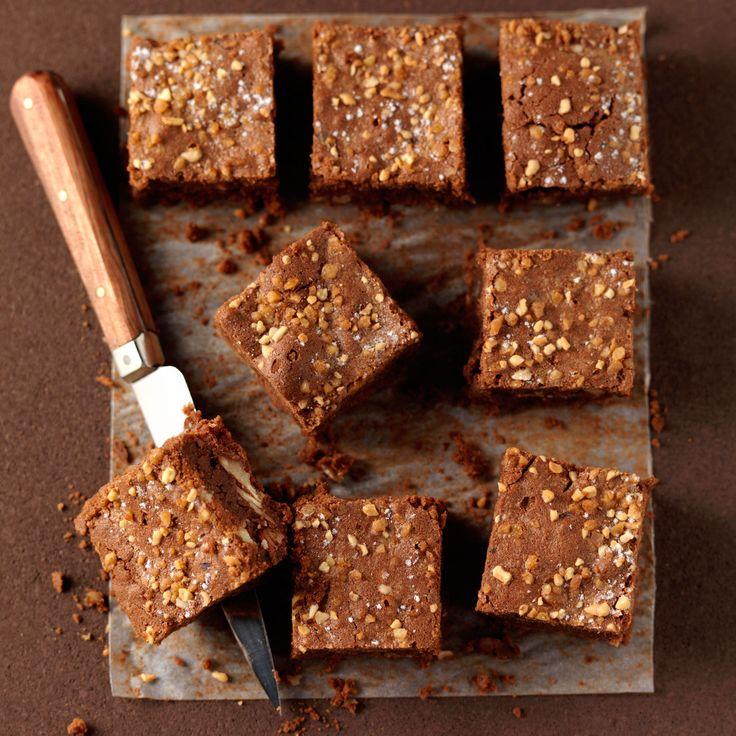 Découvrez la recette des brownies pralinés                                                                                                                                                                                 Plus