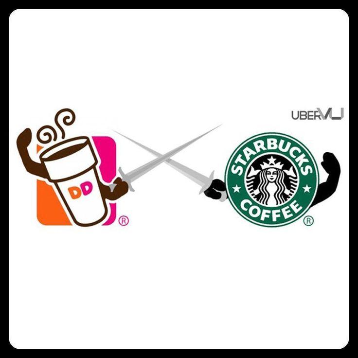 Dunkin' Donuts vs. Starbucks