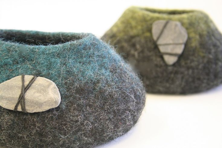 Felt  Gallery feet Jenny      Pots   retro  Stones Felt and   Feltmaker felt air Pepper Making   on   jordan