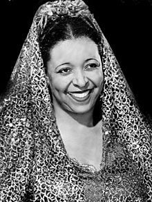 Ethel Waters (October 31, 1896 – September 1, 1977) was an African-American blues, jazz and gospel vocalist and actress