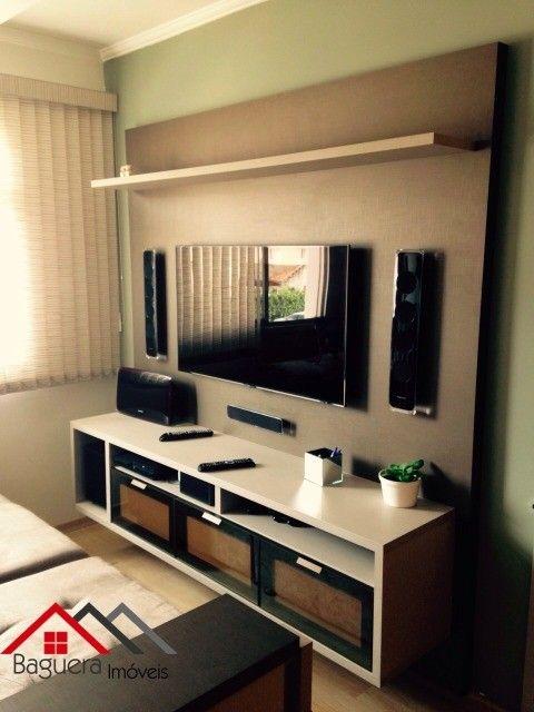 embutidos, sala 2 ambientes com sanca de gesso, cozinha toda planejada