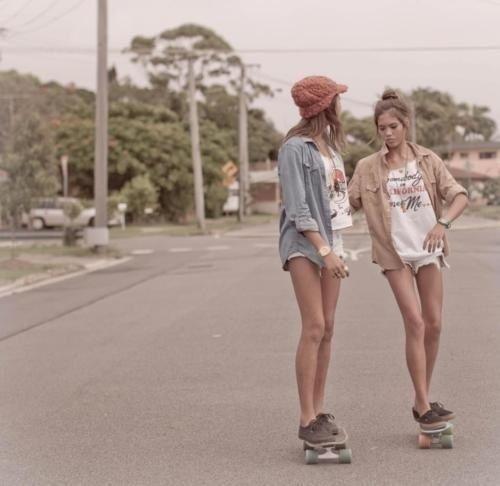 summer skateboard girl - Google Search
