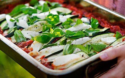 Siciliansk parmigiana di zucchine - DN.SE