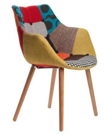 Replica Eleven Chair   Patchwork