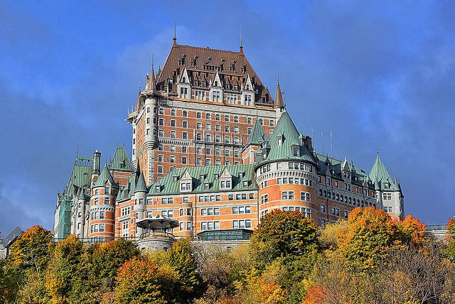 Chateau Frontenac, Quebec City, Canada. Stayed here for 4 days. Beautiful city and great hotel.