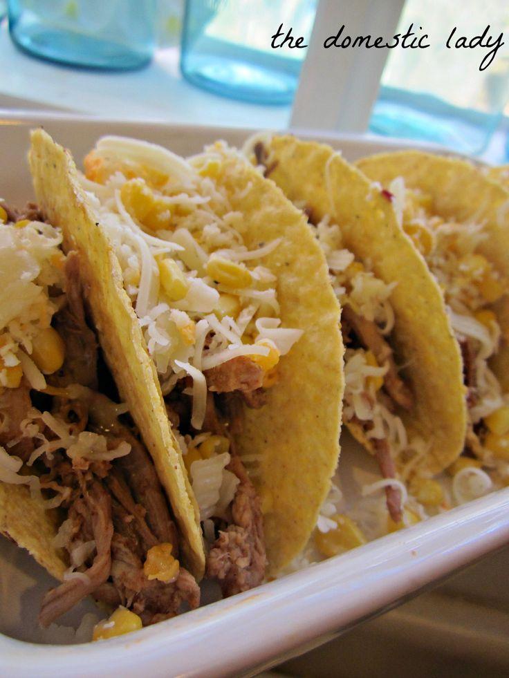 Pork Carnitas Tacos | Gluten free | Pinterest