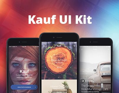 "Check out this @Behance project: ""Kauf UI Mobile Kit"" https://www.behance.net/gallery/33247055/Kauf-UI-Mobile-Kit"