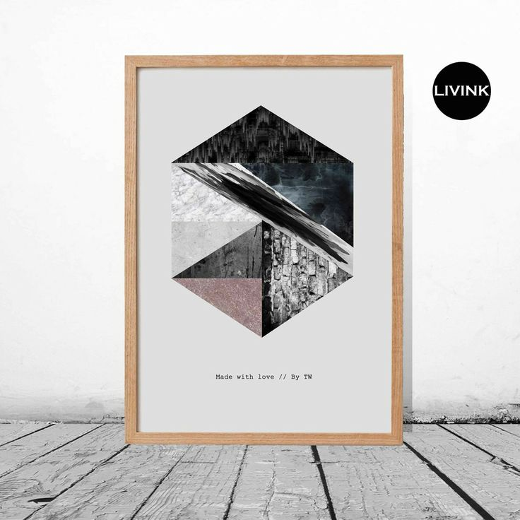 50 x 70 Marmor 5-kant Grunge via LIVINK. Click on the image to see more!