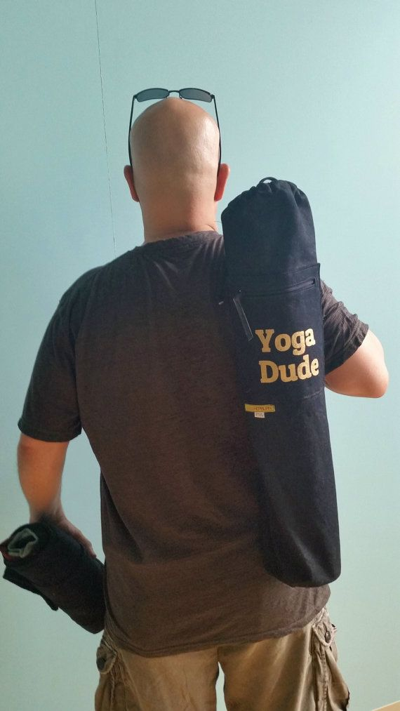 Yoga Mat Bag with Graphic Logo Yoga Mat Carrier by PippiHepburn