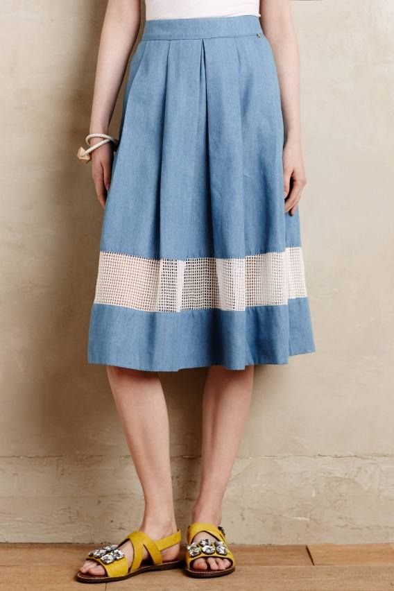 Anthropologie's New Arrivals: Skirts & Rompers - Topista