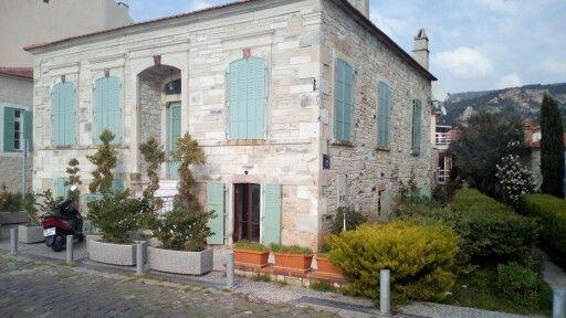 Tarihi taş evler
