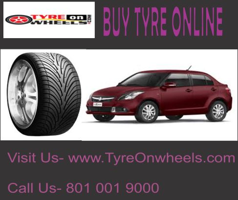Buy Tyre Online at guaranteed low prices with Free Shipping across India and get fitted with India's First mobile tyres Fitting Service at the doorstep and pay online with many payment options, EMI also available.