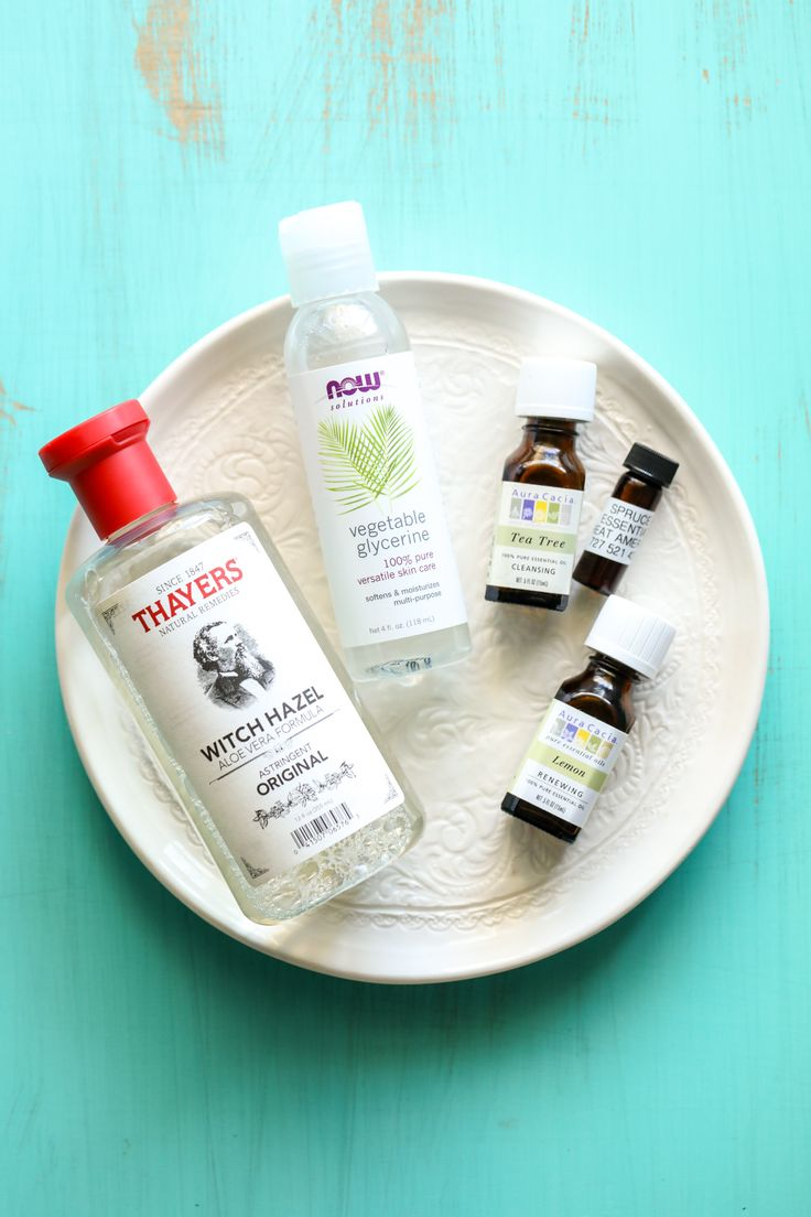 Homemade Hand Sanitizer Spray (KidFriendly) Recipe