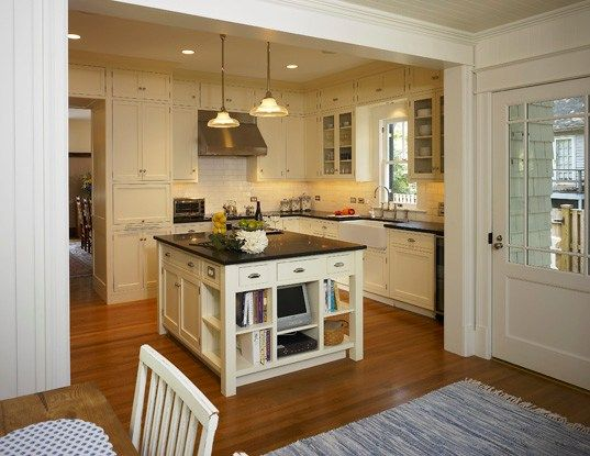 """Old-House Renovation: """"Squarely Historic"""" - Custom Home ... on Small:xmqi70Klvwi= Kitchen Renovation Ideas  id=85522"""