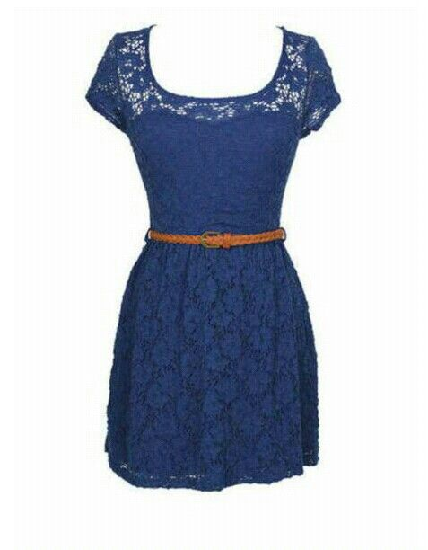 This Lace Dress Is Sooo Cute! And The Best Place To Wear Cute Clothes Is School!!!! <3