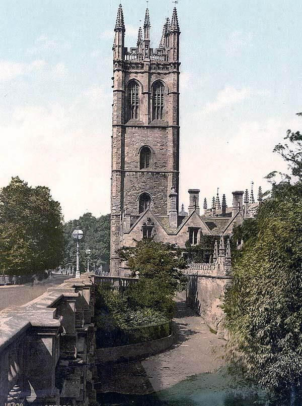 Magdalen Tower, Oxford, England