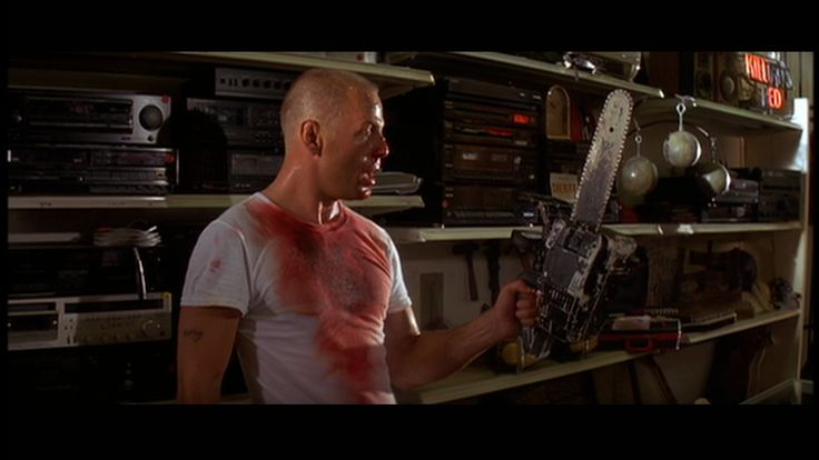chainsaw pulp fiction