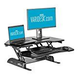 Height-Adjustable Standing Desk for Cubicles - VARIDESK Cube Corner 36 The CubeCorner 36 is our compact corner model, but it's still big enough for dual-monitor https://thehomeofficesupplies.com/height-adjustable-standing-desk-for-cubicles-varidesk-cube-corner-36-2/