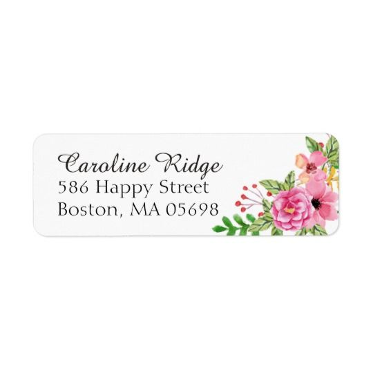 Avery 5162 Template: 25+ Best Ideas About Address Labels On Pinterest