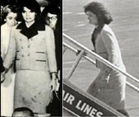 jackie kennedy assassination dress blood - photo #14
