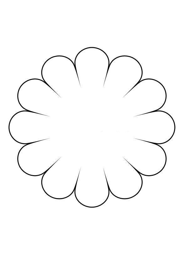 I ek kal plar i ek boyama diy - Coloriage fleur 8 petales ...
