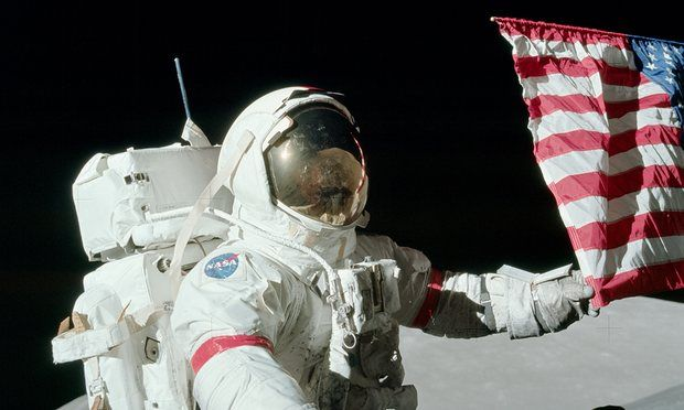 """Eugene Cernan - The Last Man On The Moon    """"Nobody can take those footsteps I made on the surface of the moon away from me."""" ~  Eugene Cernan"""