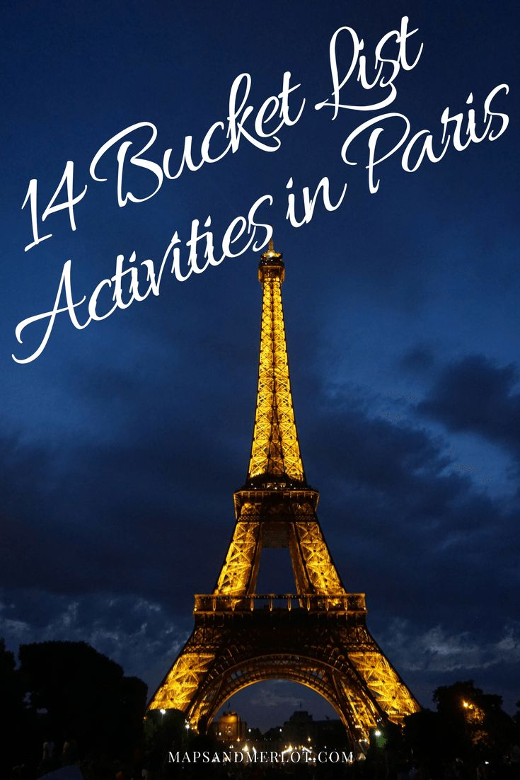 Map Of Paris And Attractions%0A    Bucket List Worthy Things to do in Paris