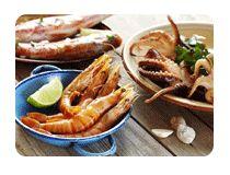 """FOU D'ICI  Crevettes Tigrées Pétoncles U10 Pétoncles sauvages """"Ocean Wise"""" (îles-de-la-Madeleine)"""