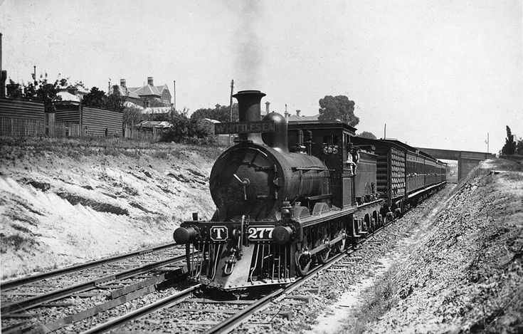 Northcote, 1912. Vic Railways site