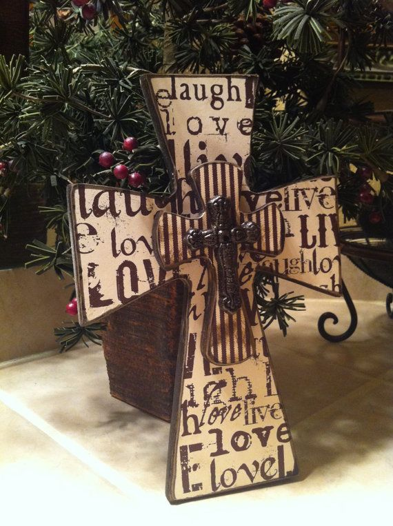 62 best images about wooden crosses on pinterest painted crosses reclaimed wood art and. Black Bedroom Furniture Sets. Home Design Ideas