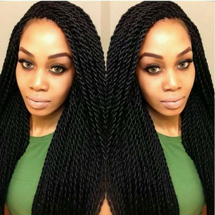 Crochet Hair Rope Twist : Senegalese twists, Twists and Senegalese twist styles on Pinterest