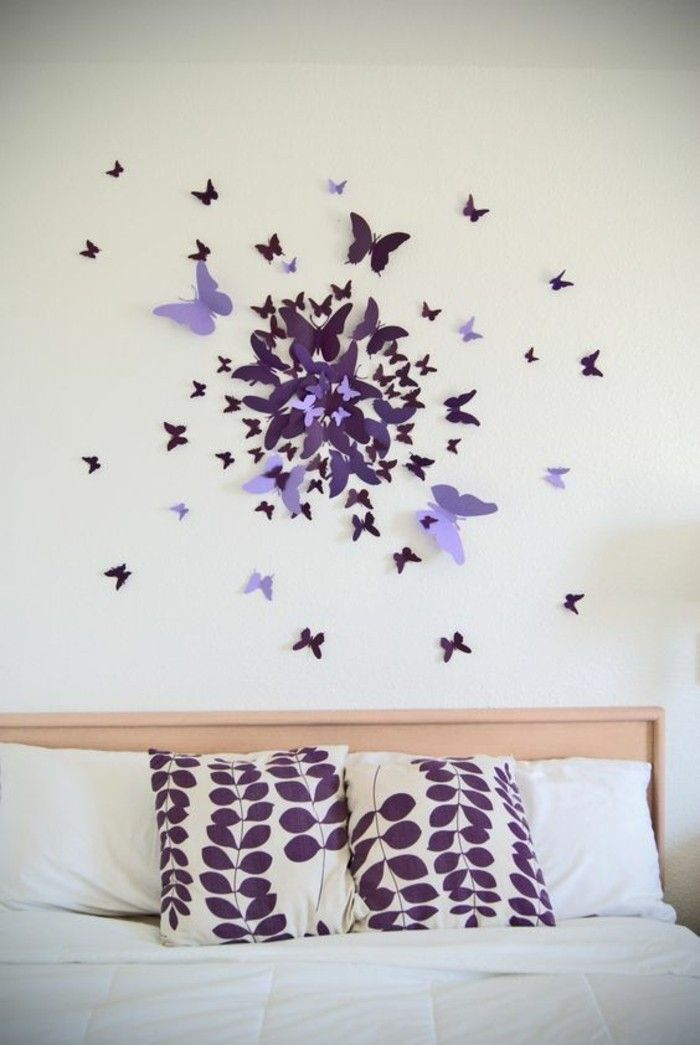 the 25+ best ideas about schmetterlinge wanddeko on pinterest ... - Kleine Fliegen Im Schlafzimmer