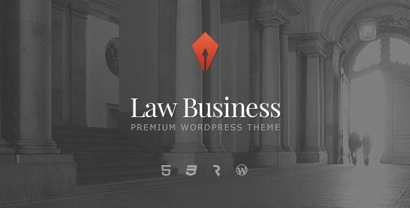 LawBusiness - Attorney & Lawyer WordPress Theme   http://themeforest.net/item/lawbusiness-attorney-lawyer-wordpress-theme/7581460?ref=damiamio             	 Current version – 1.1.1  LawBusiness – Attorney & Lawyer Theme 	 Law Business Wordpress Theme is an ideal solution for a private attorney website as well as for larger law office websites. It includes all the neccesary functionality to present legal services online. Custom Services post type lets you provide a gallery of services in an…