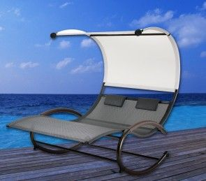 Luxury Floating Double Lounge Day Bed