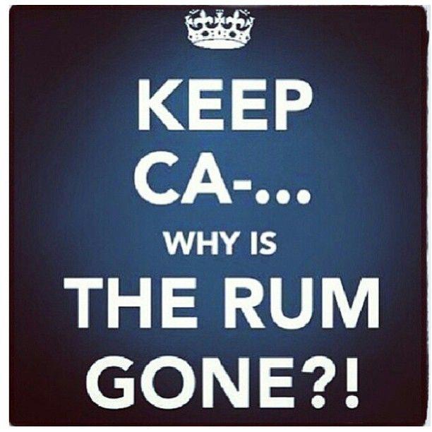 keep calm #rum