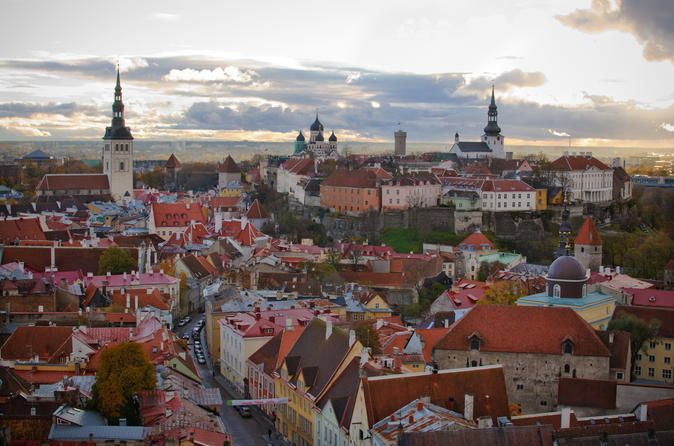 3-Hour Private Tour of Tallinn See the best sites of both medieval and modern Tallinn during this 3-hour, private tour. Your group of up to 8 people will enjoy a pick up from your hotel or cruise port. Because this is a private tour, you can more easily customize what you want to see and where you want to go.The tour starts with a drive through the beautiful district of Kadriorg. This lovely baroque park, complete with a grand palace and rose gardens, was a gift from the Russi...