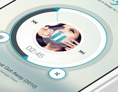 Quality Voice - Mobile App UI