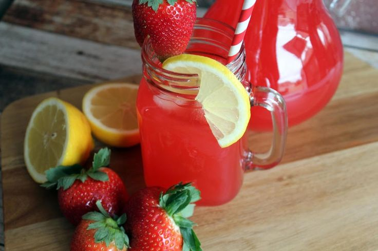 This is a wonderful refreshing summer quencher that you can enjoy and enjoy and enjoy with no guilt. I keep the ingredients in my cupboard and make a container of it if not every day, then every other day. I drop a lemon slice and a fresh strawberry in it to add flavor and just to make it pretty. If you are dieting or watching your calories, you can still enjoy a cold glass of strawberry lemonade.