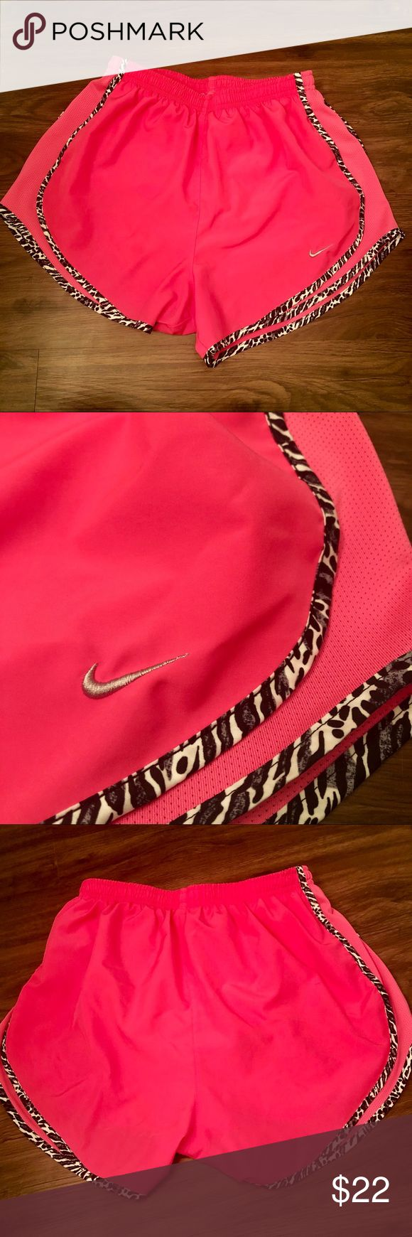 Pink Cheetah Nike Shorts Nike Drifit-Laufshorts. Kleine Größe. Hellrosa mit …   – Check Out these closets!
