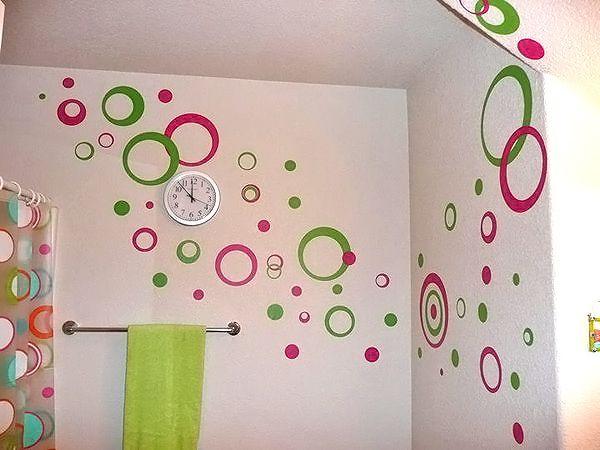 как покрасить стены в ванной фото