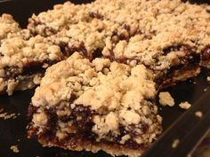 Date Squares - My Nova Scotian Great Aunt's recipe is almost identical to this and boy are they good!