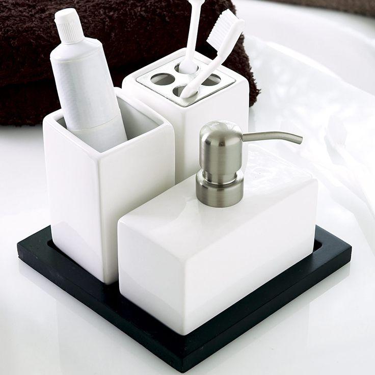 Luxury Bathroom Accessories : Bathroom Accessory Set
