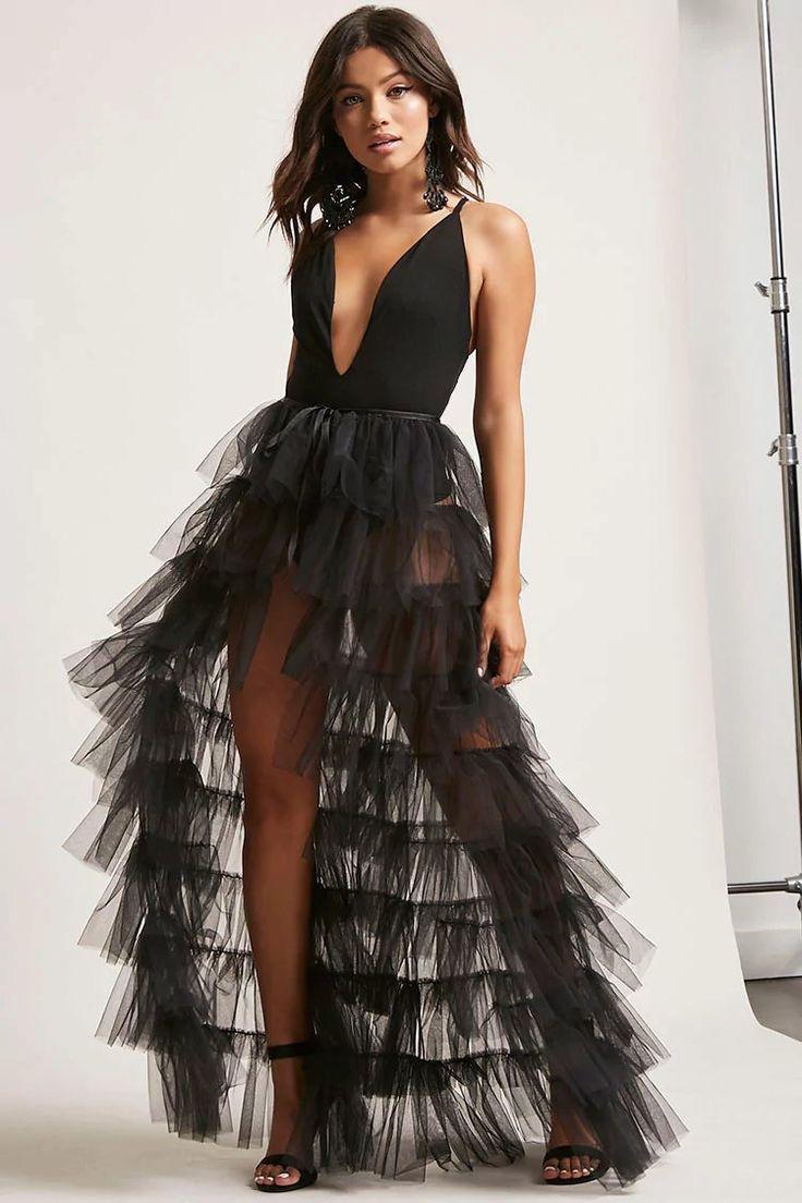 Product Name:Kikiriki Tiered Ruffle Tulle Skirt, Category:CLEARANCE_ZERO, Price:68