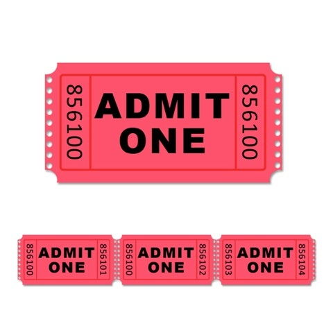 63 best Ticket images on Pinterest Birthdays, School carnival - admission ticket template free download