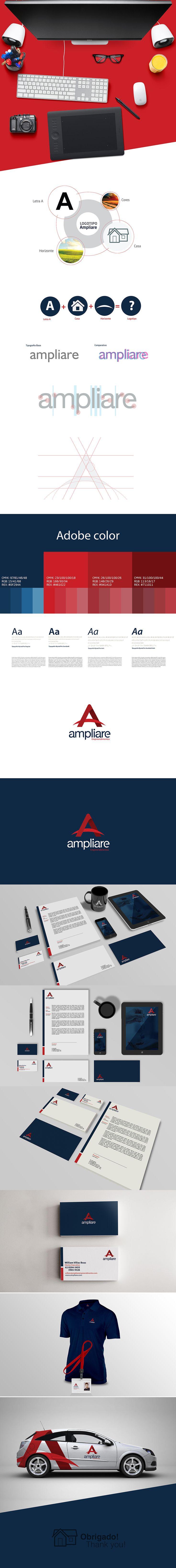 Projeto - Ampliare Empreendimentos on Behance